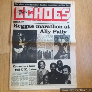 Black Echoes August 1978