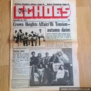Black Echoes September 1978