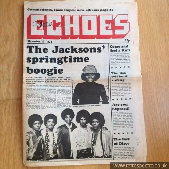 Black Echoes 11 November 1978
