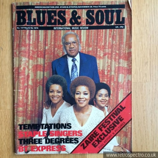 Blues & Soul magzine