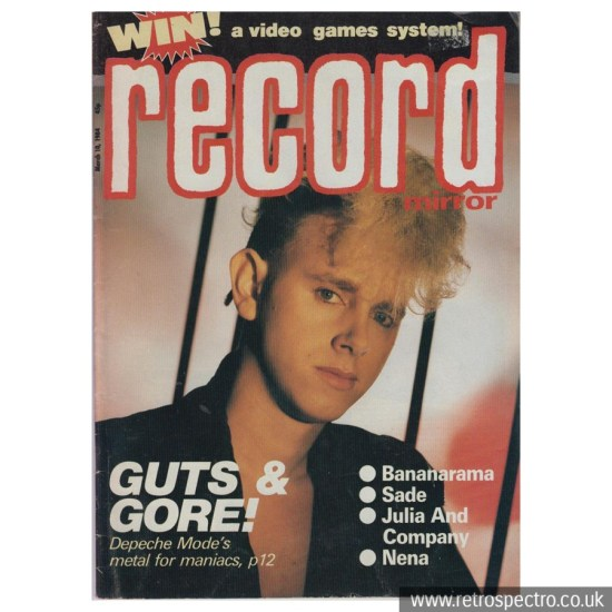 Record Mirror March 10, 1984