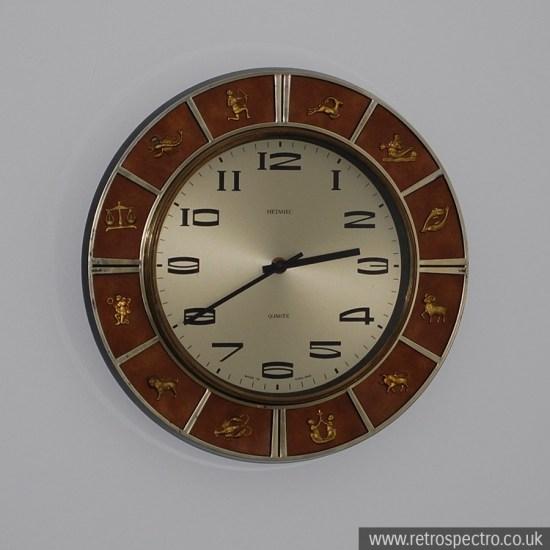 Metamec Zodiac Wall Clock