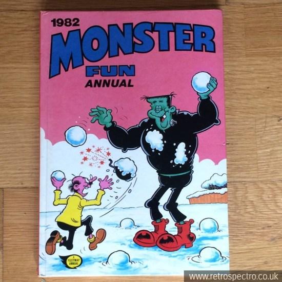 Monster Fun Annual 1982