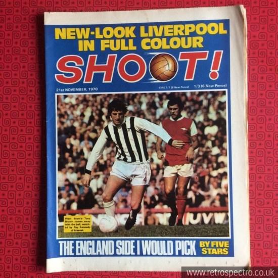Shoot Football Magazine 1970