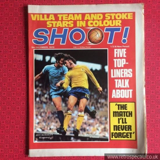 Shoot Footbal Magazine 1970