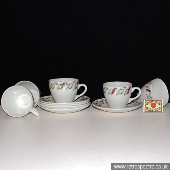 Broadhurst Cups & Saucers