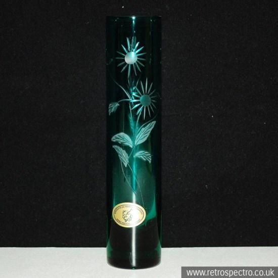 Portuguese glass vase