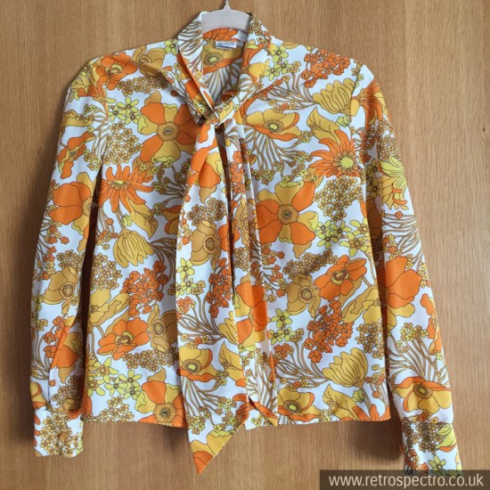 St Michael Flower Power Blouse