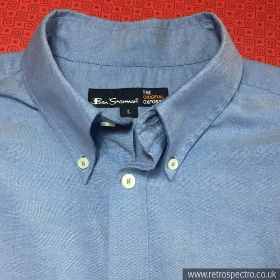 Ben Sherman Oxford Weave Button Down Shirt