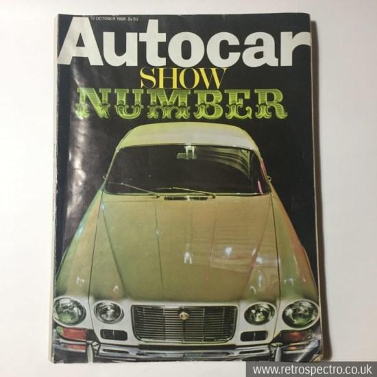 Autocar Magazine Motorshow number 1968