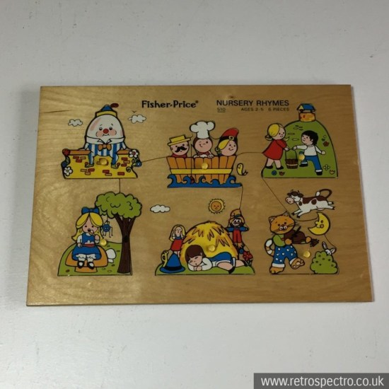 Fisher Price Nursery Rhyme Puzzle