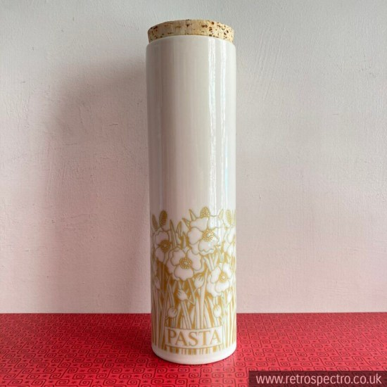 Hornsea Fleur Pasta Jar With Cork Lid