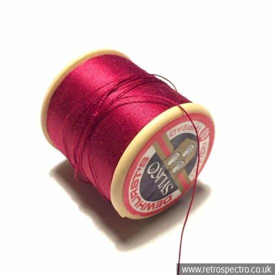 Sylko cotton reel D41 Cerise