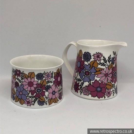 Elizabethan Portobello 2 milk jug and sugar bowl