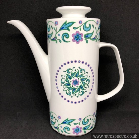 J&G Meakin Mandalay Coffee Pot