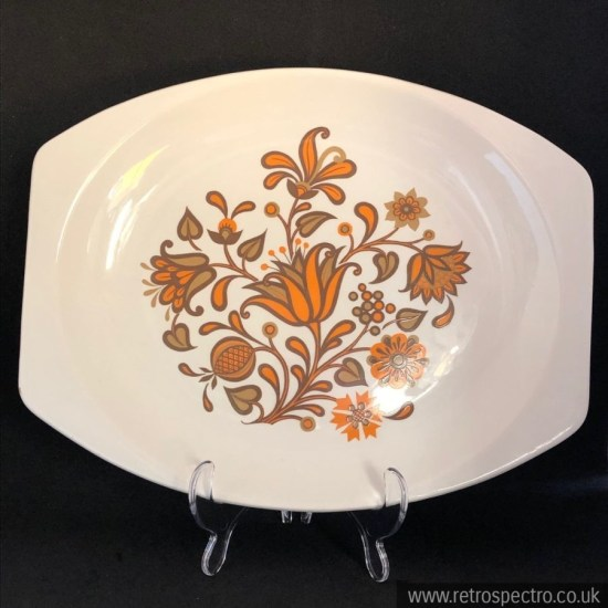 J&G Meakin Lotus Serving Platter