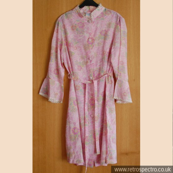 St Michael Floral Dressing Gown