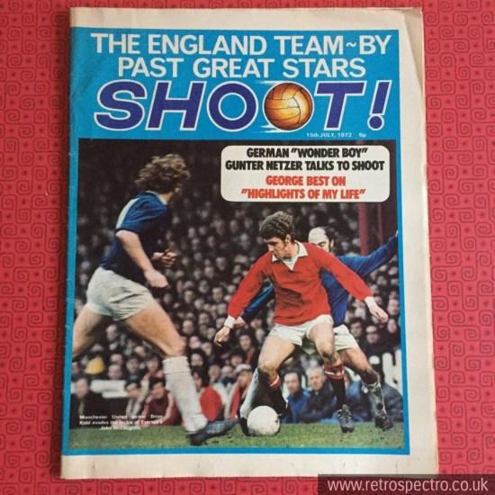 Shoot Football Magazine 1972