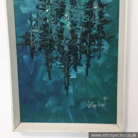 Jeffrey C Allen 70's Oil Painting