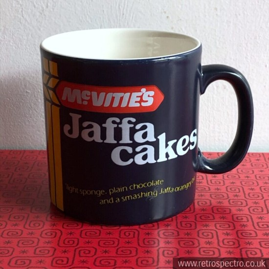 McVitie's Jaffa Cake Mug Vintage Retro Made in England