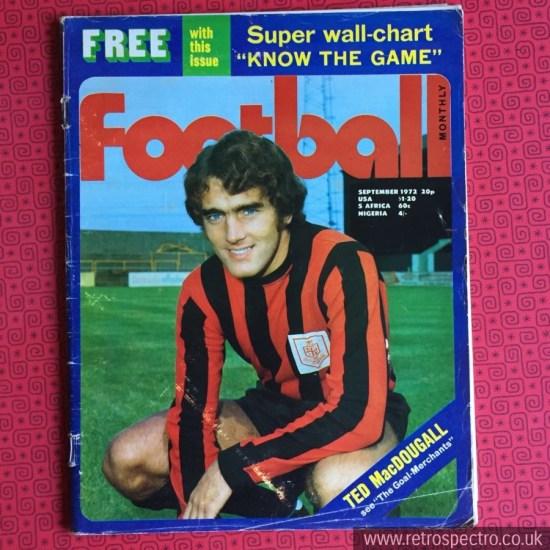 Football magazine Football 1972