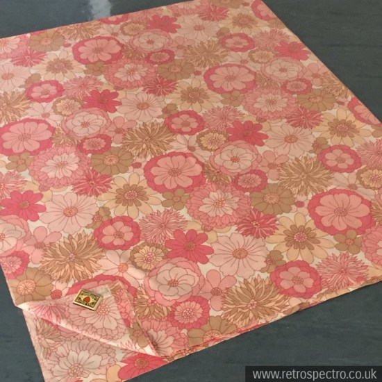 St Michael Flowery Double Bed Sheet