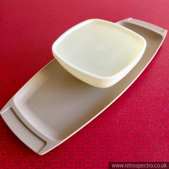 Tupperware Chip & Dip Tray