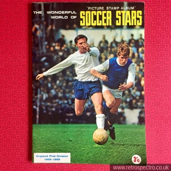 Soccer Stars Picture Stamp Album