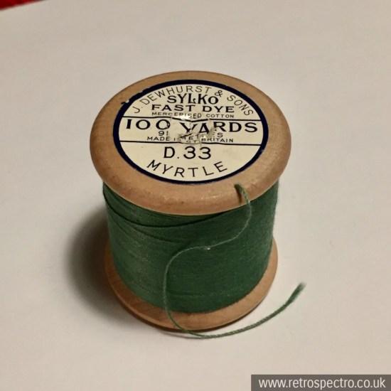 Sylko wooden cotton reel Myrtle D.33
