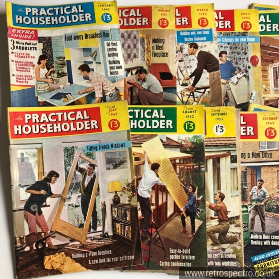 Practical Householder 1962 year set