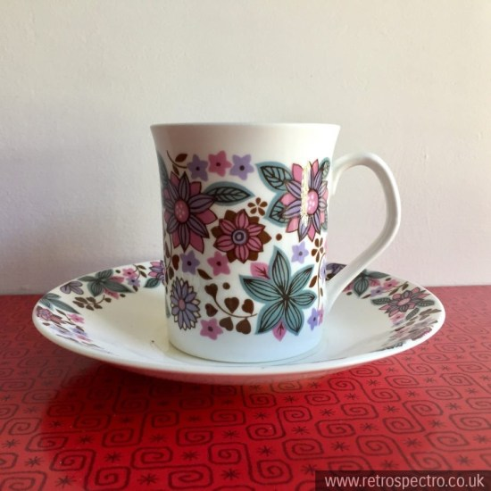 Elizabethan Carnaby Cup and Saucer