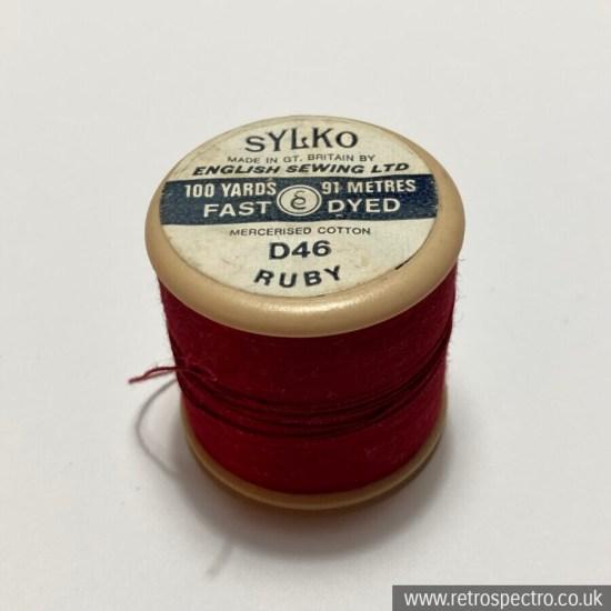 Sylko Cotton Reel - D46 Ruby