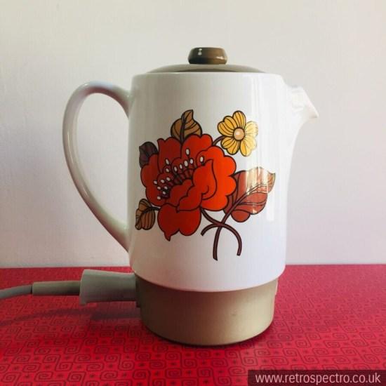 Russell Hobbs Ceramic Wedgwood Milk Warmer Poppy pattern
