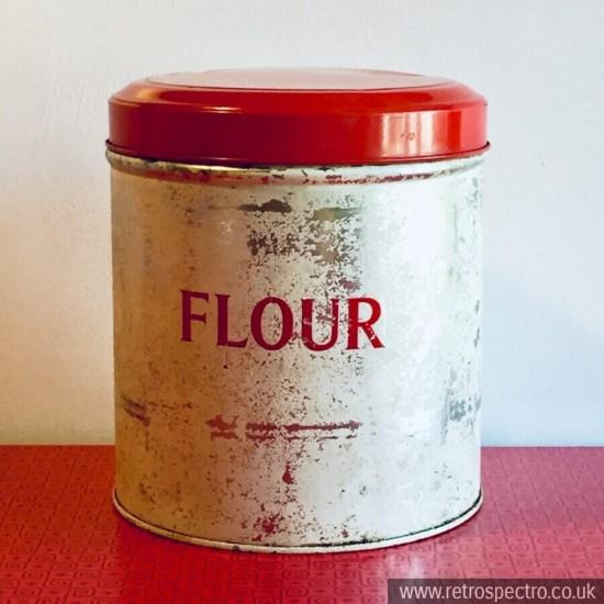 Vintage Tala Flour Tin Storage Canister