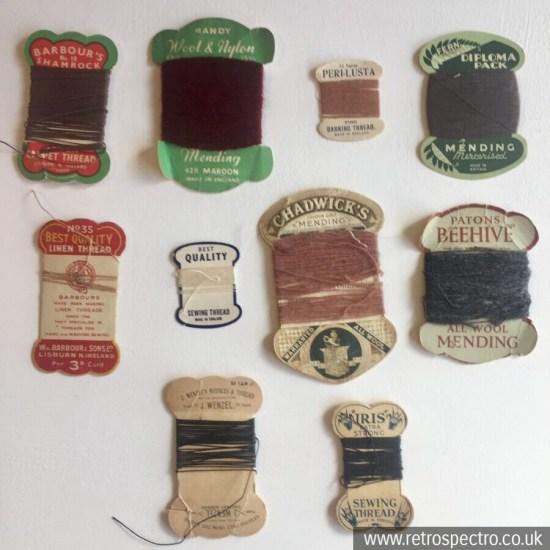 Vintage Thread Cards