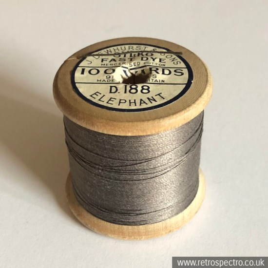 Sylko Cotton Reel D.188 Elephant