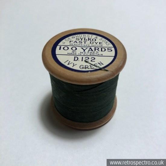 Sylko Cotton Reel D.122 Ivy Green