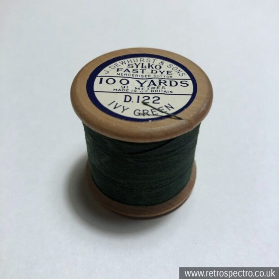 Sylko Cotton Reel D.122 Ivy Green