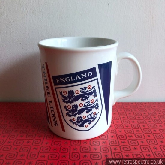 England Football Mug Tams Pottery Made in England