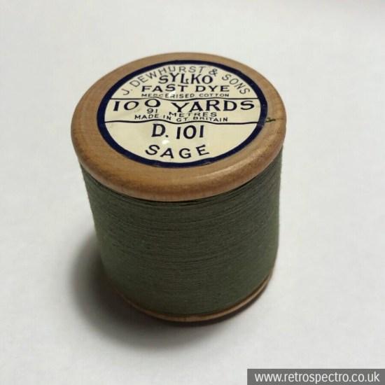 Sylko Cotton Reel D.101 Sage
