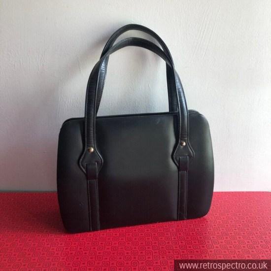 Vintage Leather Fassbender Handbag With Coin Purse