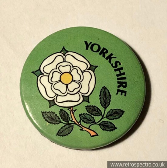Vintage Yorkshire Badge