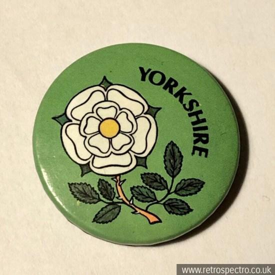 Vintage Yorkshire Badge