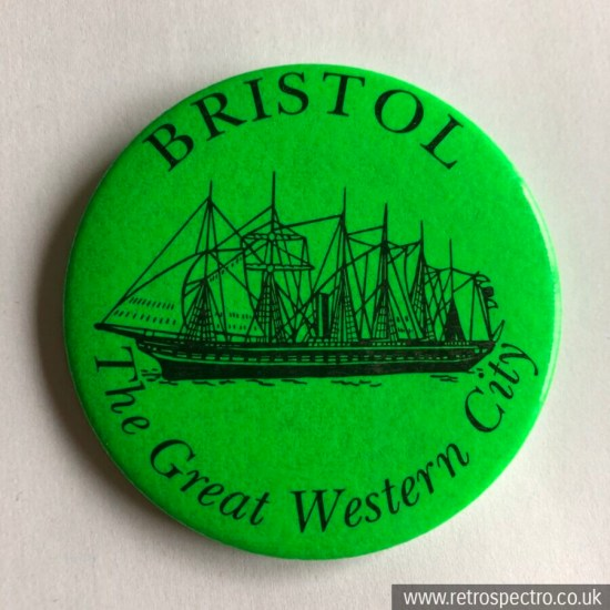Vintage Bristol Badge