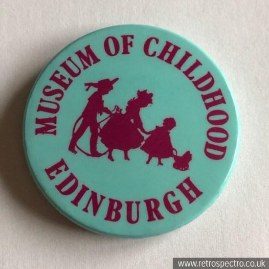 Vintage Museum Of Childhood Edinburgh Badge