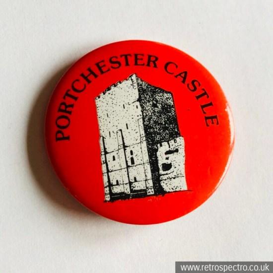 Vintage Porchester Castle Badge