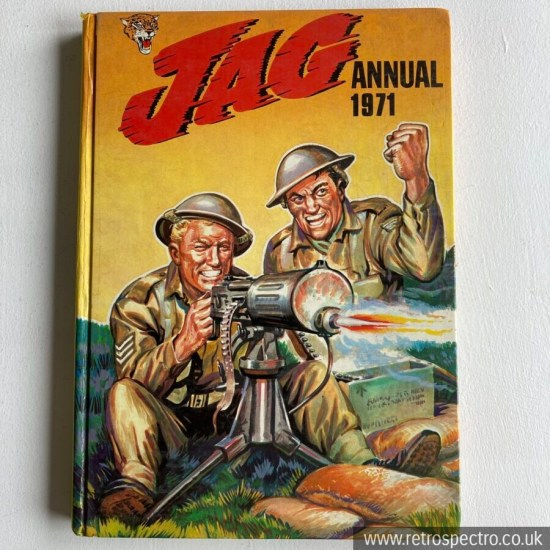 Jag Annual 1971 IPC Magazines Vintage action war sports comic