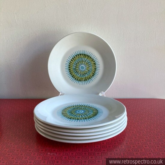 J&G Meakin Aztec Side Plates