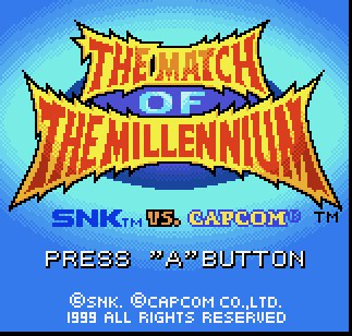 Retrospekt Review: SNK vs Capcom: Match of the Millennium (Neo Geo Pocket)