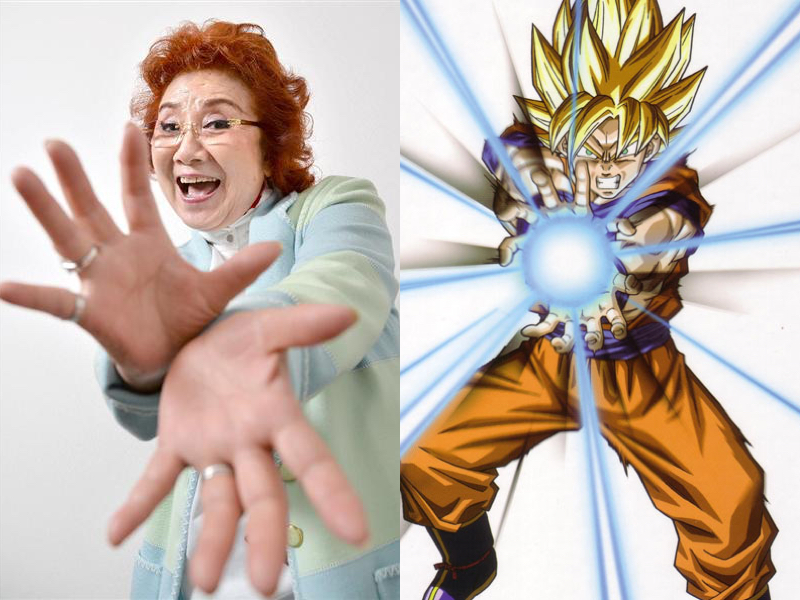 Interview with Masako Nozawa (Goku, Gohan and Goten from Dragon Ball)